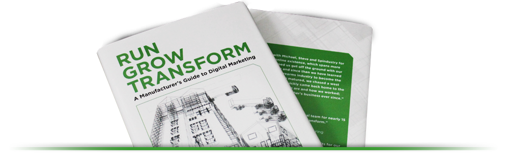 Run Grow and Transform book
